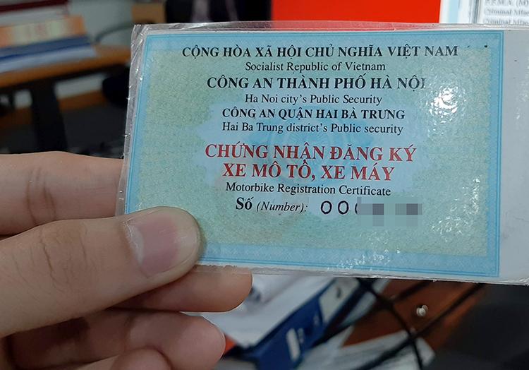 Thu Tuc Dang Ky Xe May Khi Mat Giay To Goc Cua Xe Nam 2020
