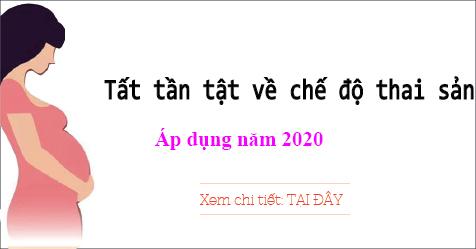 Che Do Thai San Nam 2020
