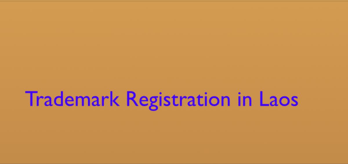 Filling Trademark In Laos