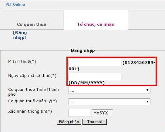 Cach Tra Cuu Ma So Thue Nguoi Phu Thuoc Online 2