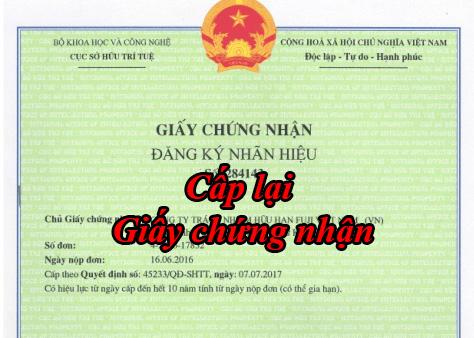 Cap Lai Giay Chung Nhan Dang Ky Nhan Hieu
