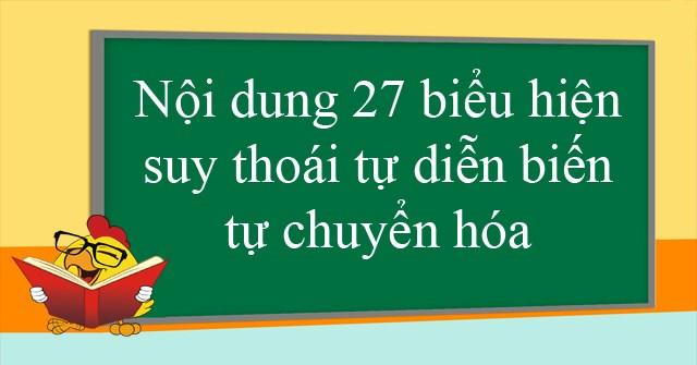 Noi Dung 27 Bieu Hien Suy Thoai Tu Dien Bien Tu Chuyen Hoa