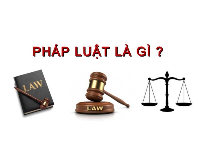 Phap Luat La Gi