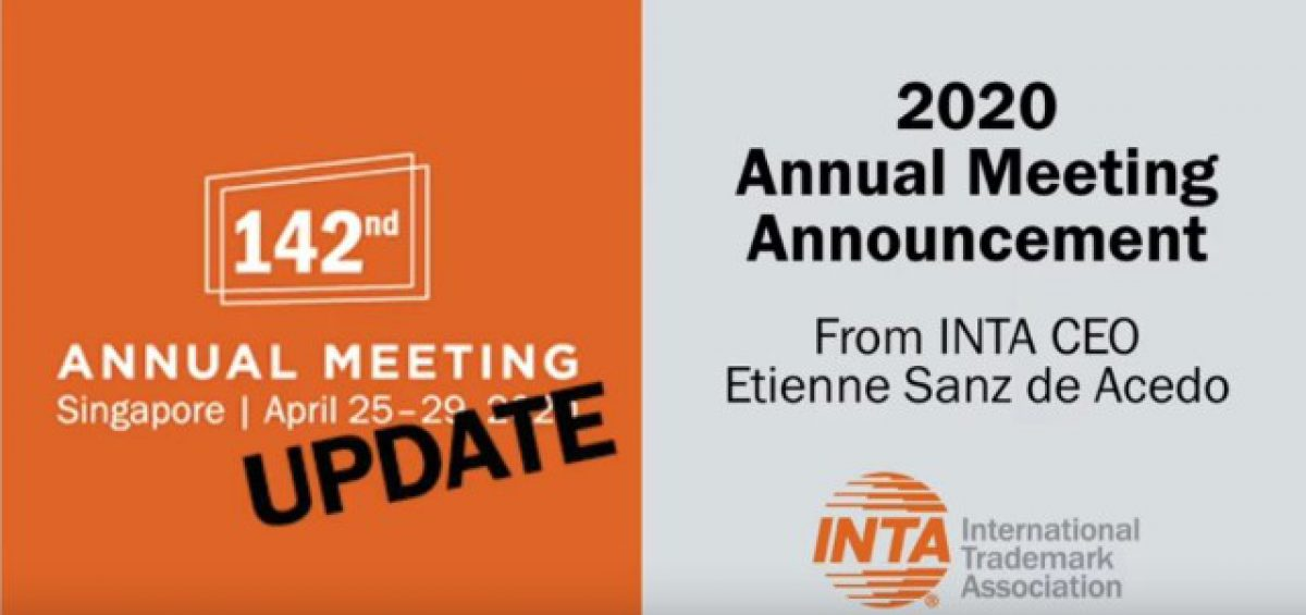 Announcement About Inta's 2020 Annual Meeting