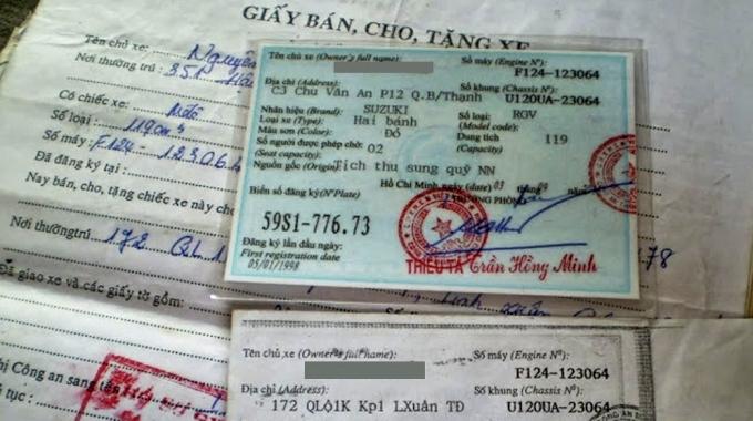 Chuan Bi Giay To De Mua Ban Xe May