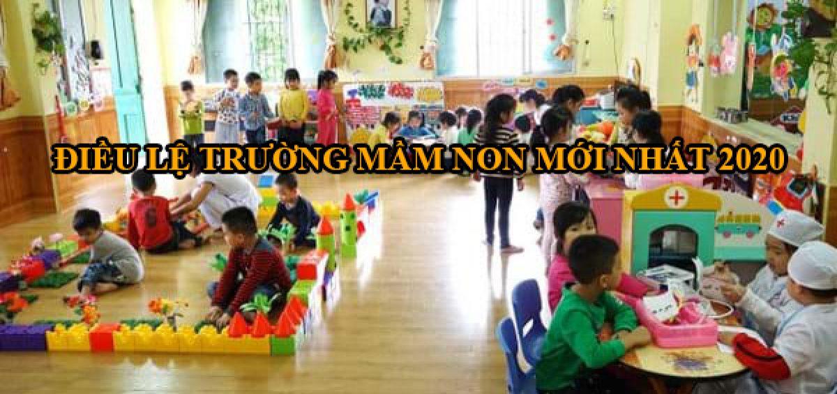 Dieu Le Truong Mam Non Moi Nhat Nam 2020