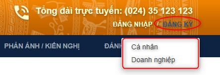 Huong Dan Tra Cuu Dich Vu Cong Truc Tuyen Thanh Pho Ha Noi 1