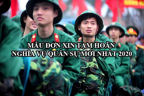 Mau Don Xin Tam Hoan Nghia Vu Quan Su Moi Nhat 2020