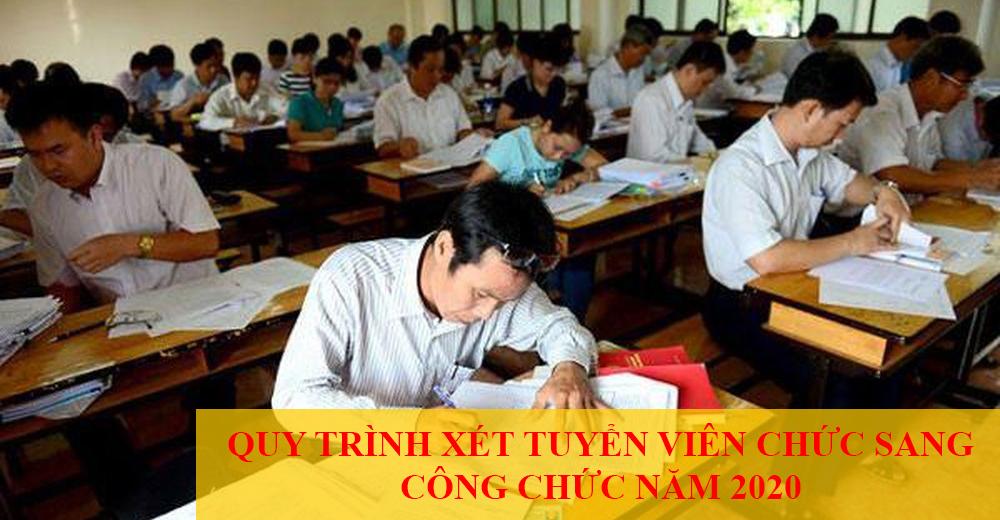 Quy Trinh Xet Tuyen Vien Chuc Sang Cong Chuc Nam 2020