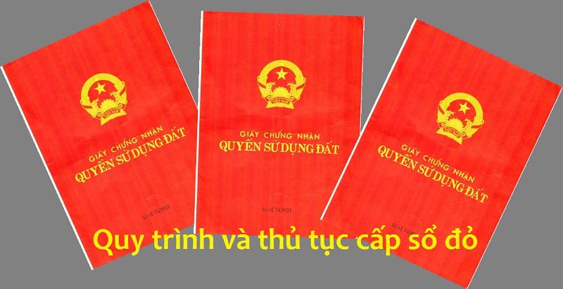 Trinh Tu Cac Buoc Cap Giay Chung Nhan Quyen Su Dung Dat Lan Dau