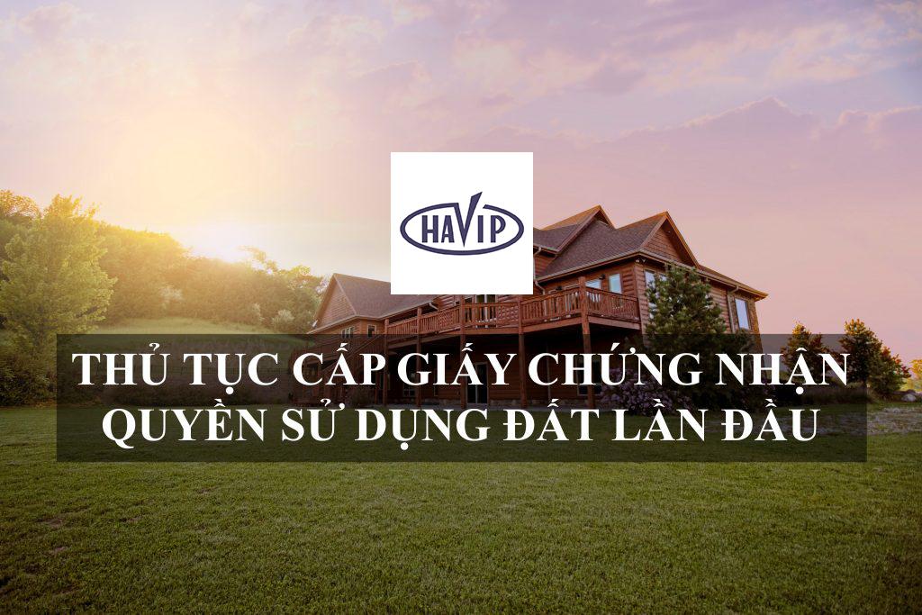 Cap Giay Chung Nhan Quyen Su Dung Dat Lan Dau