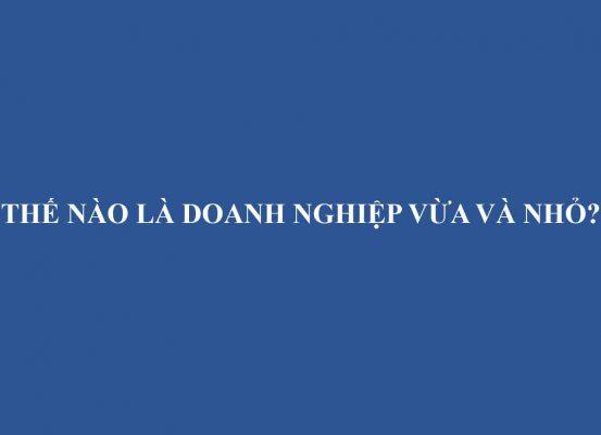The Nao La Doanh Nghiep Vua Va Nho