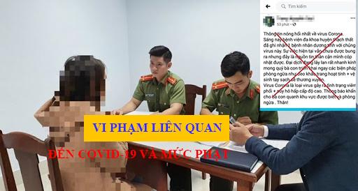 4 Vi Pham Lien Quan Den Dich Covid 19 Va Muc Phat