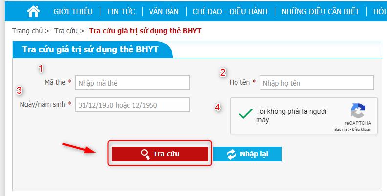 Huong Dan Chi Tiet Cach Tra Cuu Thong Tin The Bao Hiem Y Te 2