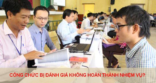 Khi Nao Cong Chuc Bi Danh Gia Khong Hoan Thanh Nhiem Vu